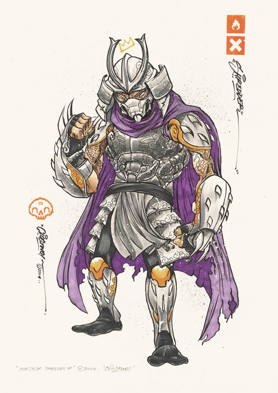 Les Tortues Ninja vues par CLOGTWO
