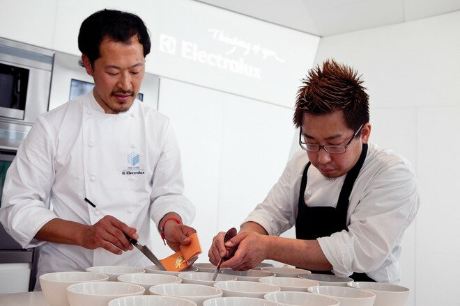 Ресторан Electrolux Cube Брюссель