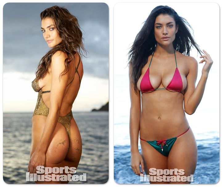 Лорен Меллор в купальниках Sports Illustrated Swimsuit 2014 - Lauren Mellor by Walter Iooss Jr. in St. Lucia