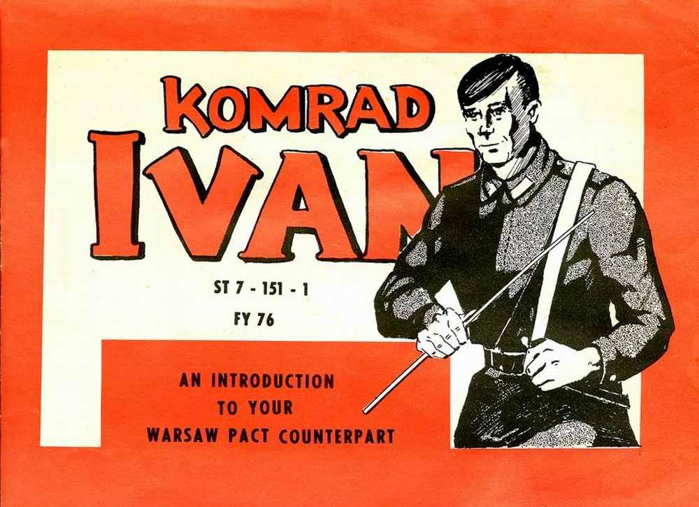 Товарищ Иван - учебное пособие армии США - обложка