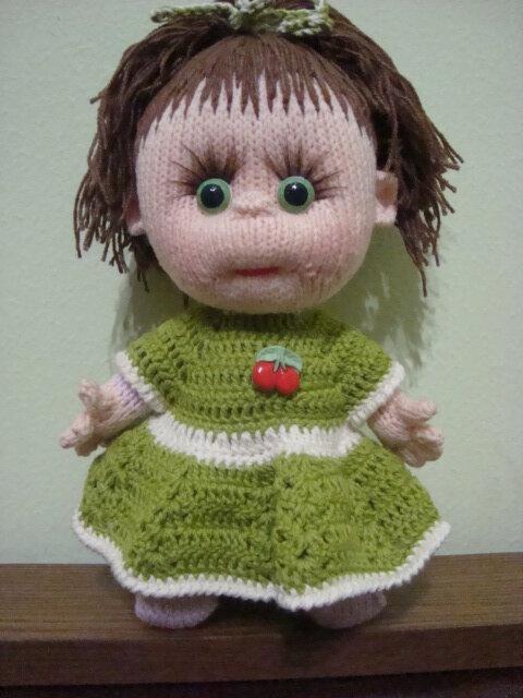 """На нашем женском сайте  """"Дамочка """" Вы всегда отыщите новость - вязание на кукол схемы, с фотографиями..."""