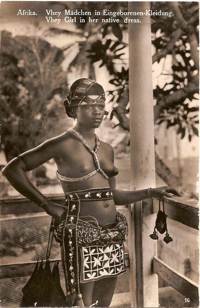 1930. Девушка из Нигерии