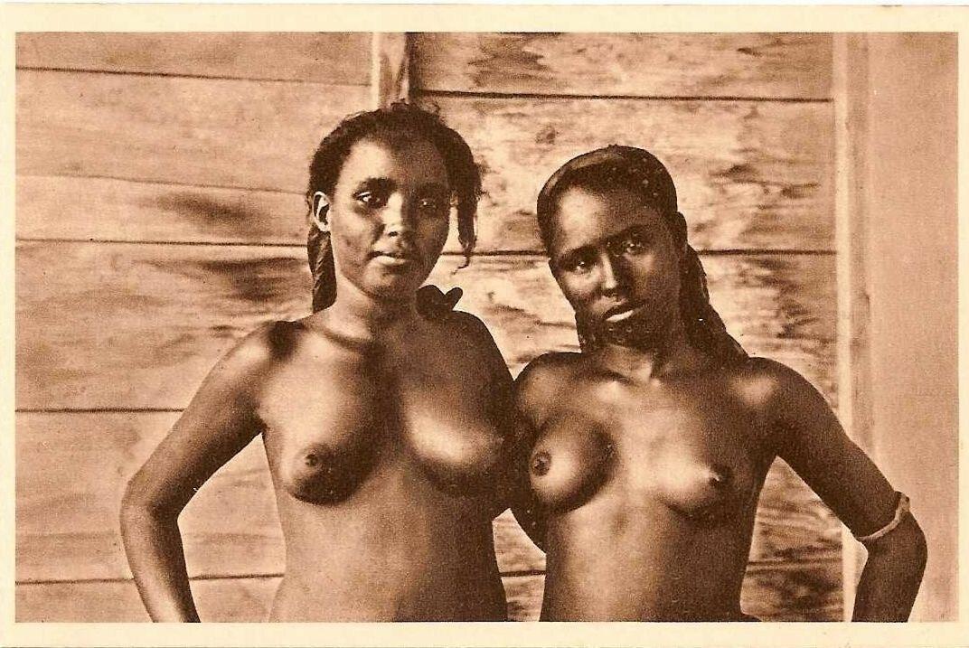 1930. Девушки из Джибути