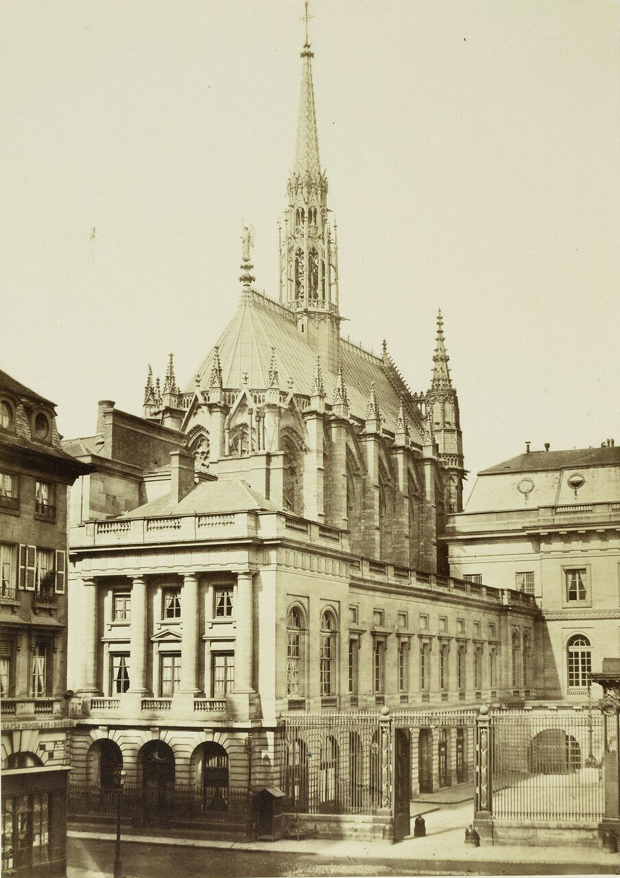 1855. Сент-Шапель