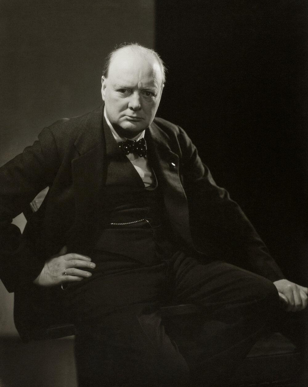 1932. Уинстон Черчилль