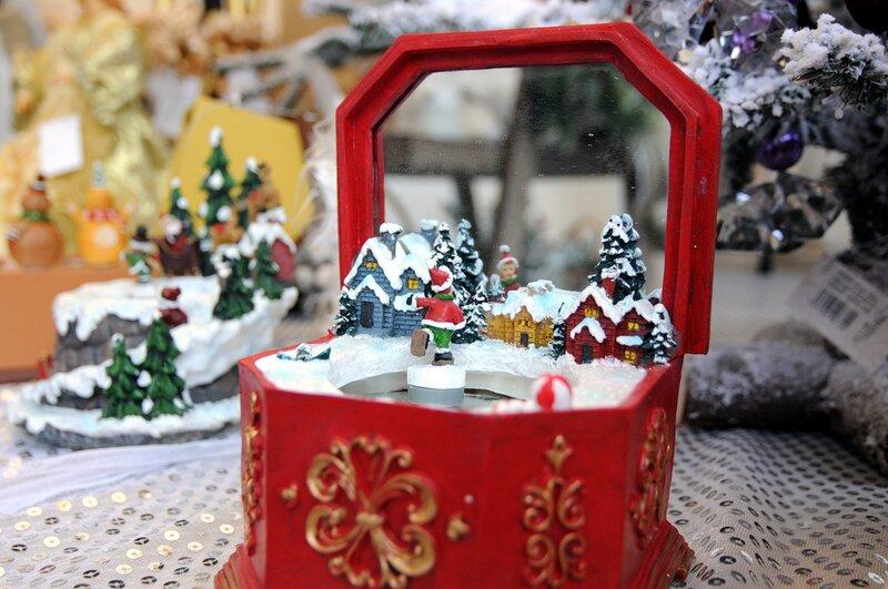 Рождественская ярмарка Seasons в саду «Эрмитаж»