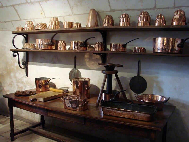 Замки долины Луары, Шенонсо, кухня