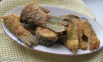 Рыба в кукурузной муке