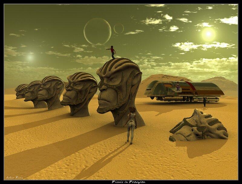 3D-искусство Артура Розы (Arthur Rosa)