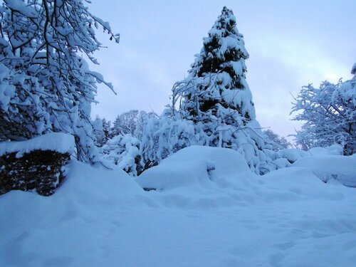 Зима в Шотландии