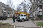 КРЭС ведет ремонтные работы на ул. Мирошника