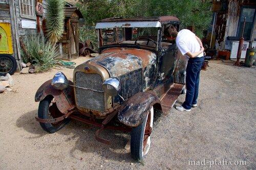 историческая дорога 66, route 66, сша, аризона, невада, калифорния, автопутешествие, старинные автомобили