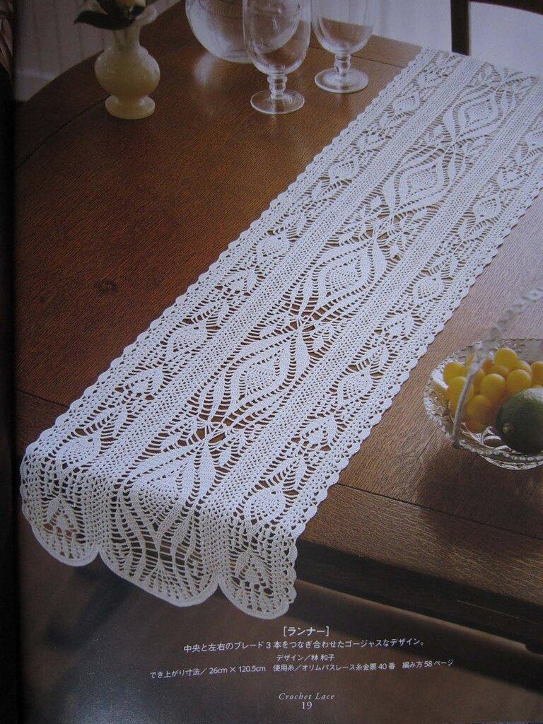 салфетка ромашка крючком схема из кружков