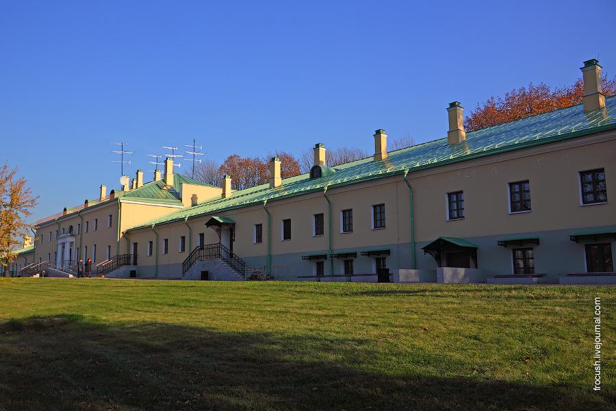 Восстановленные оранжереи Царицынского дворца