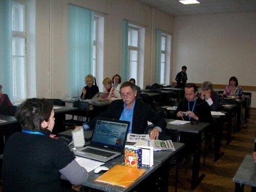 """семинар """"Особенности преподавания делового французского"""", СПб, декабрь 2010 г."""