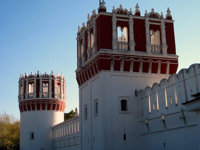 Башни Новодевичьего монастыря