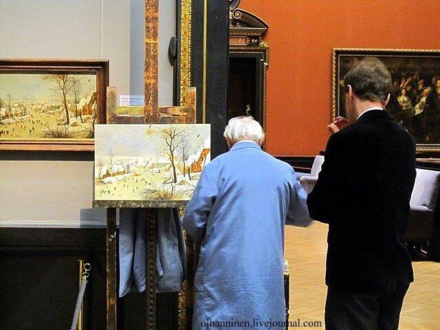 Vienna artist copy Pieter Bruegel Kunsthistorisches Museum