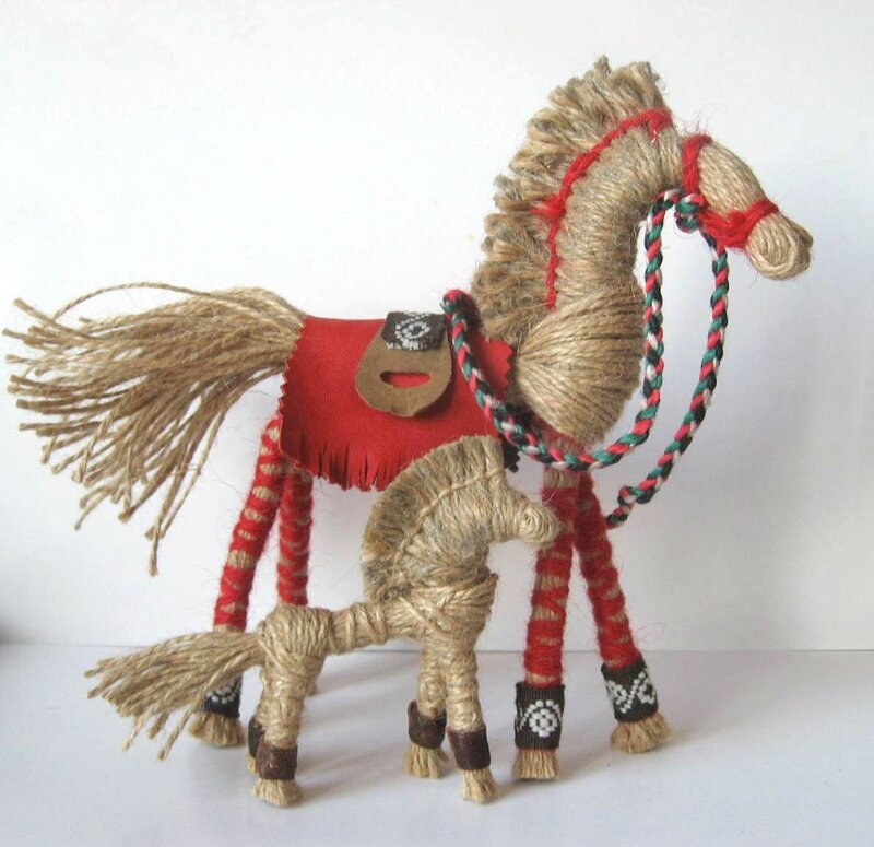 Обереги конь своими руками из ткани мастер класс