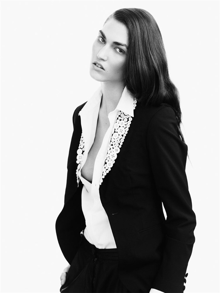 модель Таллула Мортон / Tallulah Morton, фотограф Nadine Ottawa