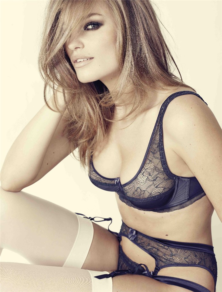 Адела Карова / Adela Capova for Damaris-Mimi Lingerie autumn-winter 2010