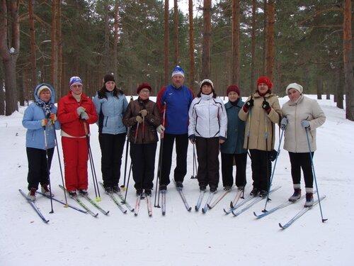Максатихинские лыжники