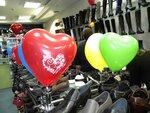 Сердца, шары на день всех влюбленных