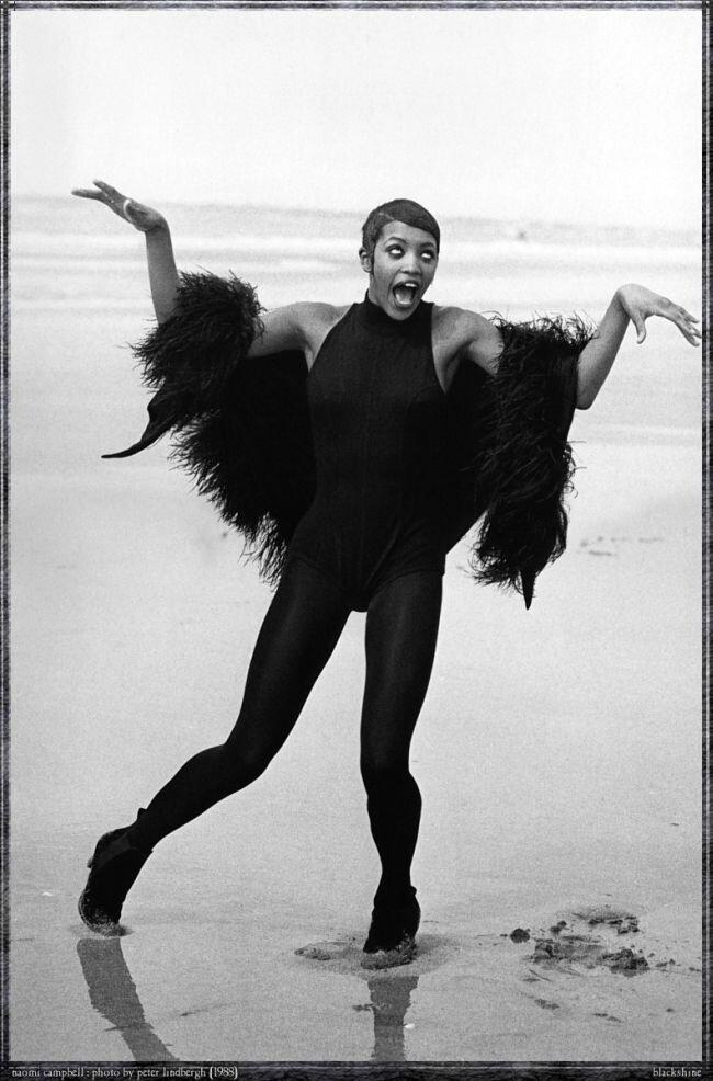 Naomi Campbell by Peter Lindberg