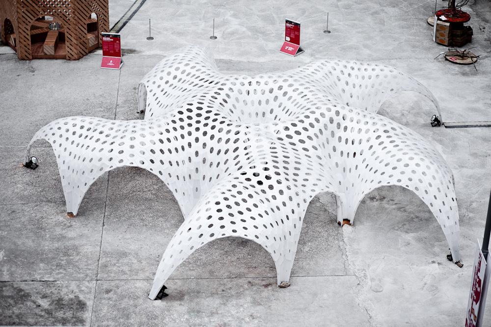 shellstar pavilion by matsys