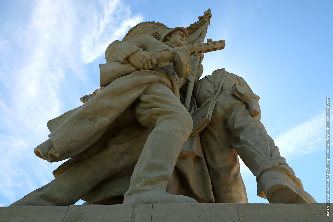 памятник «Соединение фронтов» в Пятиморске