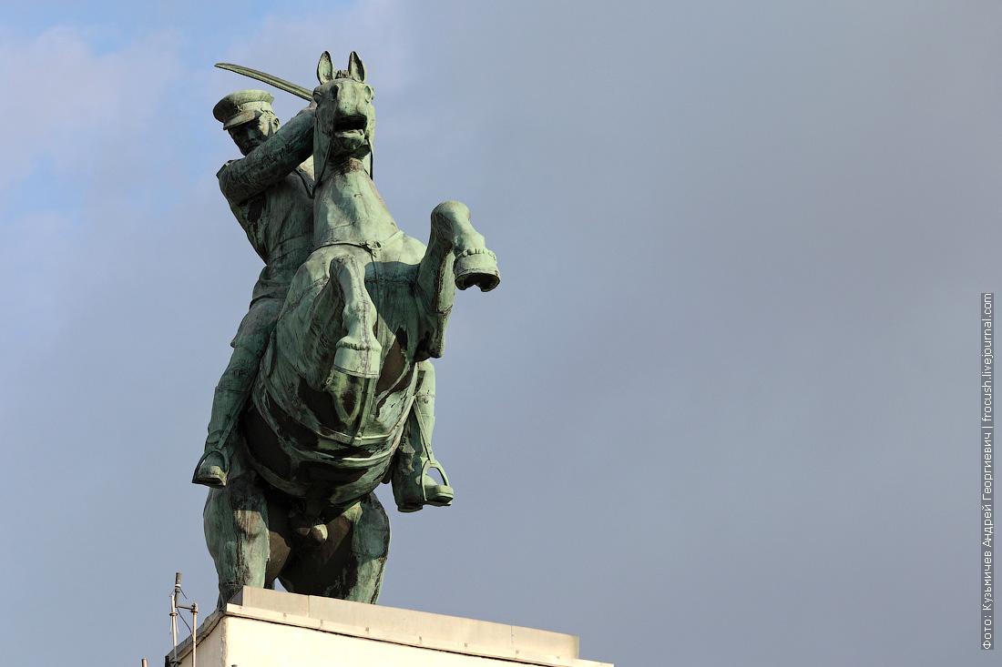 шлюз №15 «Донские казаки» скульптура