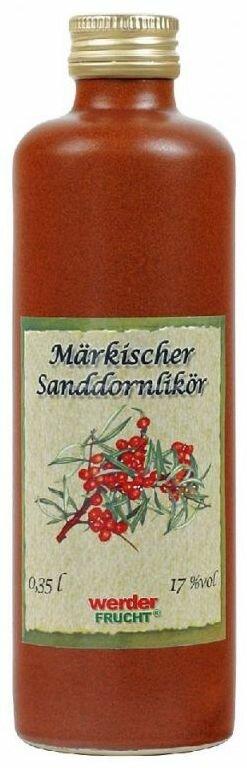 werder frucht märkischer Sanddornlikör