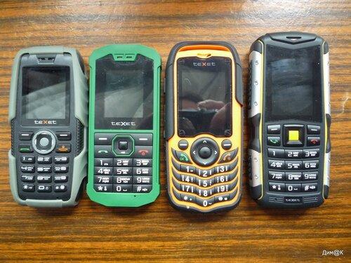 Модельный ряд Texet: TM-502R, TM-509R, TM-510R и TM-511R