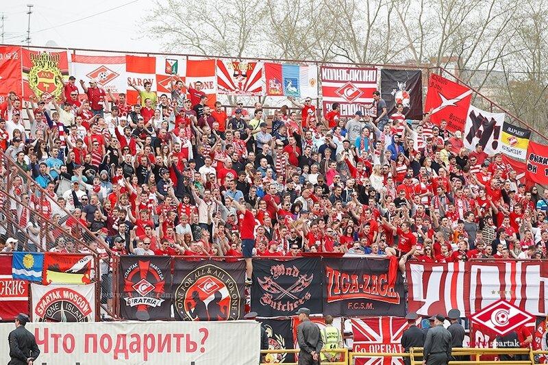 «Томь» vs «Спартак» 2:1 Премьер-лига 2013-2014