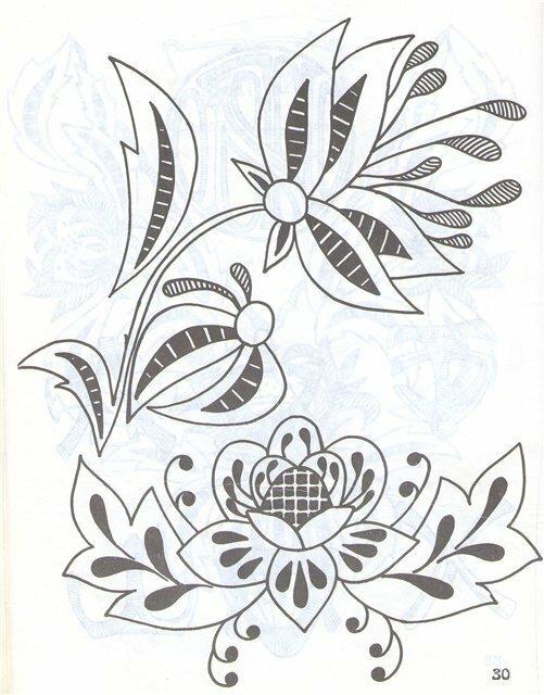 Схемы для вышивки бисером ришелье
