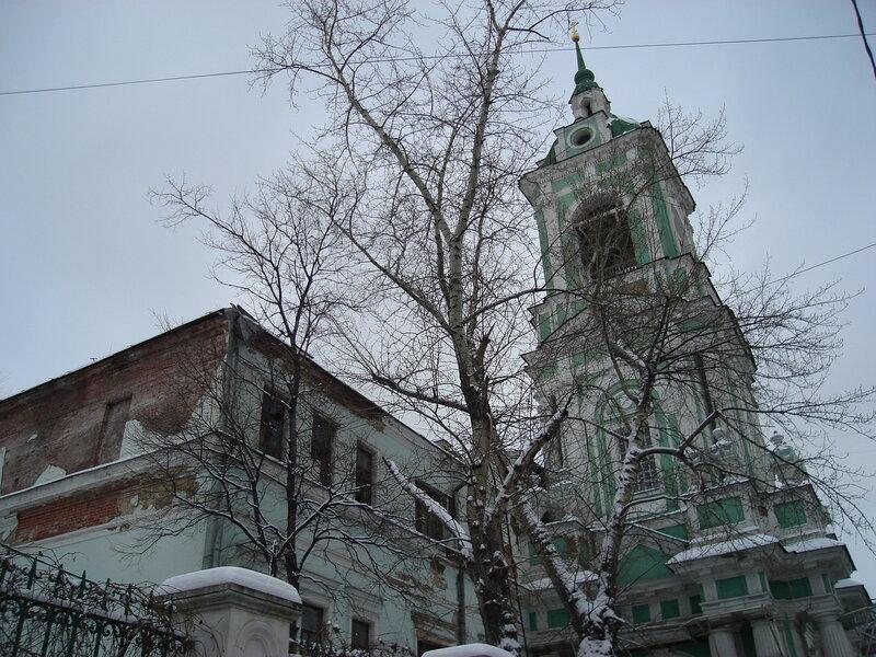 КОЛОКОЛЬНЯ, церковь Иоанна Предтечи под Бором,1781г.