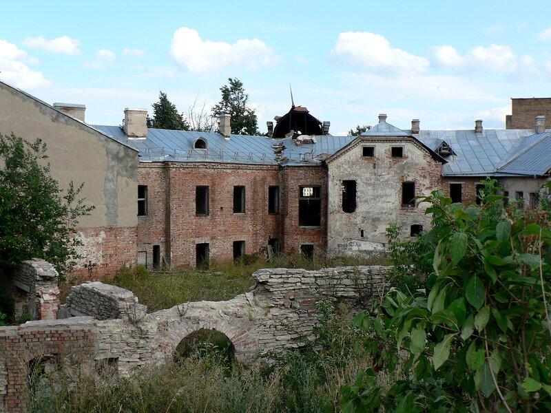 Дом Батова в Пскове. Август 2007