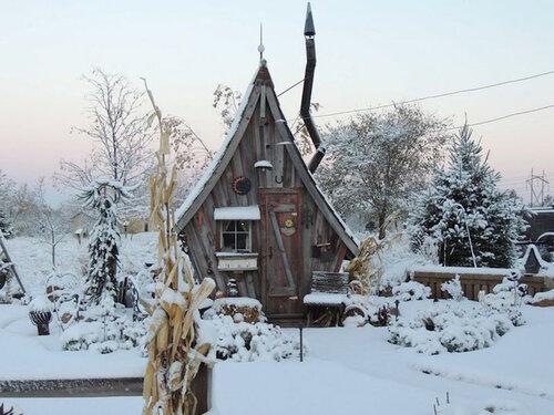 Крошечные дома для дачного участка