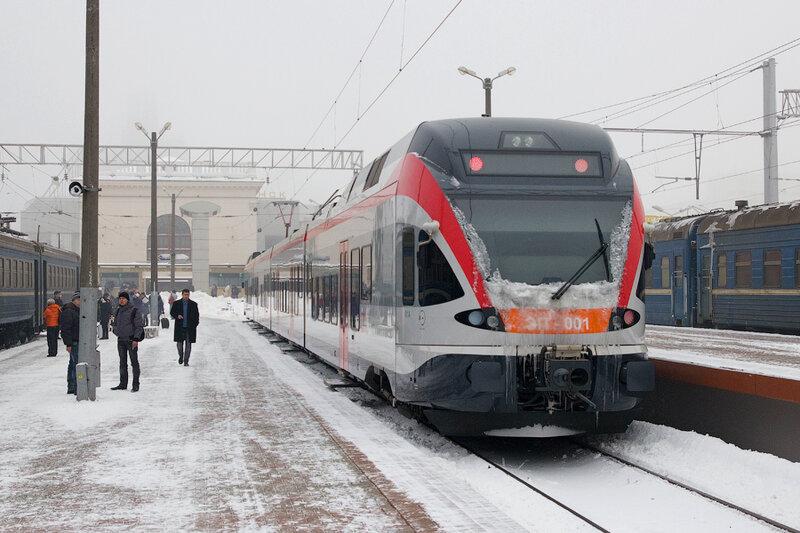 Минская городская электричка