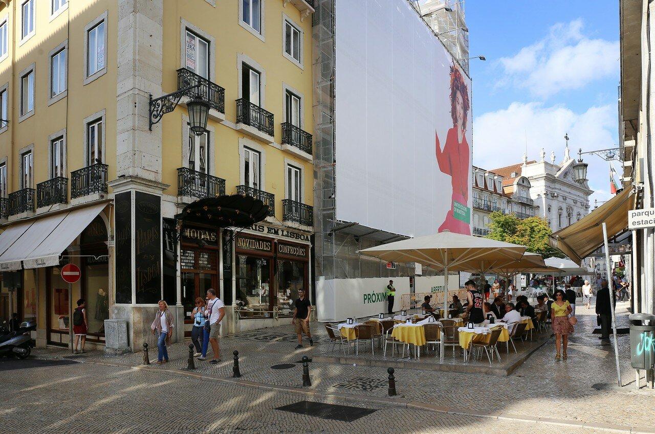 Lisbon. Chiado square