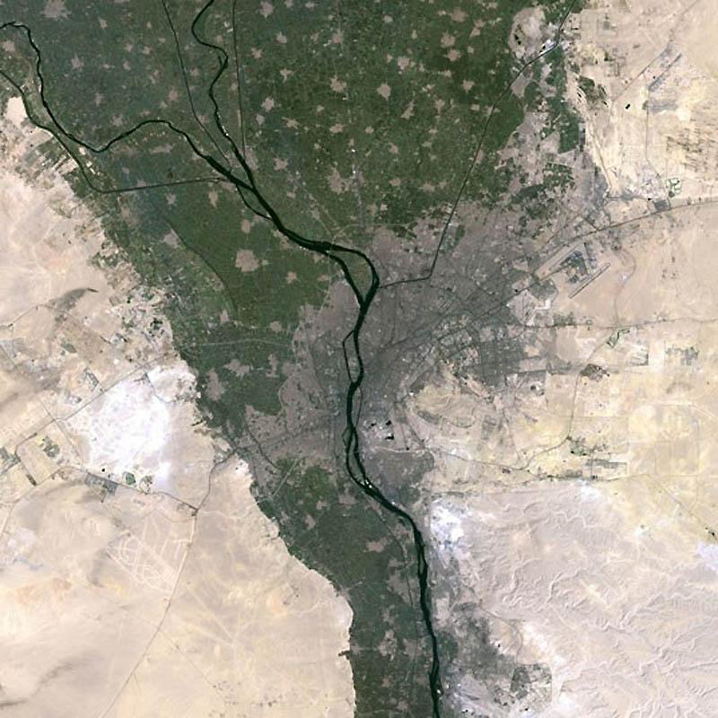 14. Дельта в Каире, Египет. (SPL / Barcroft Media)