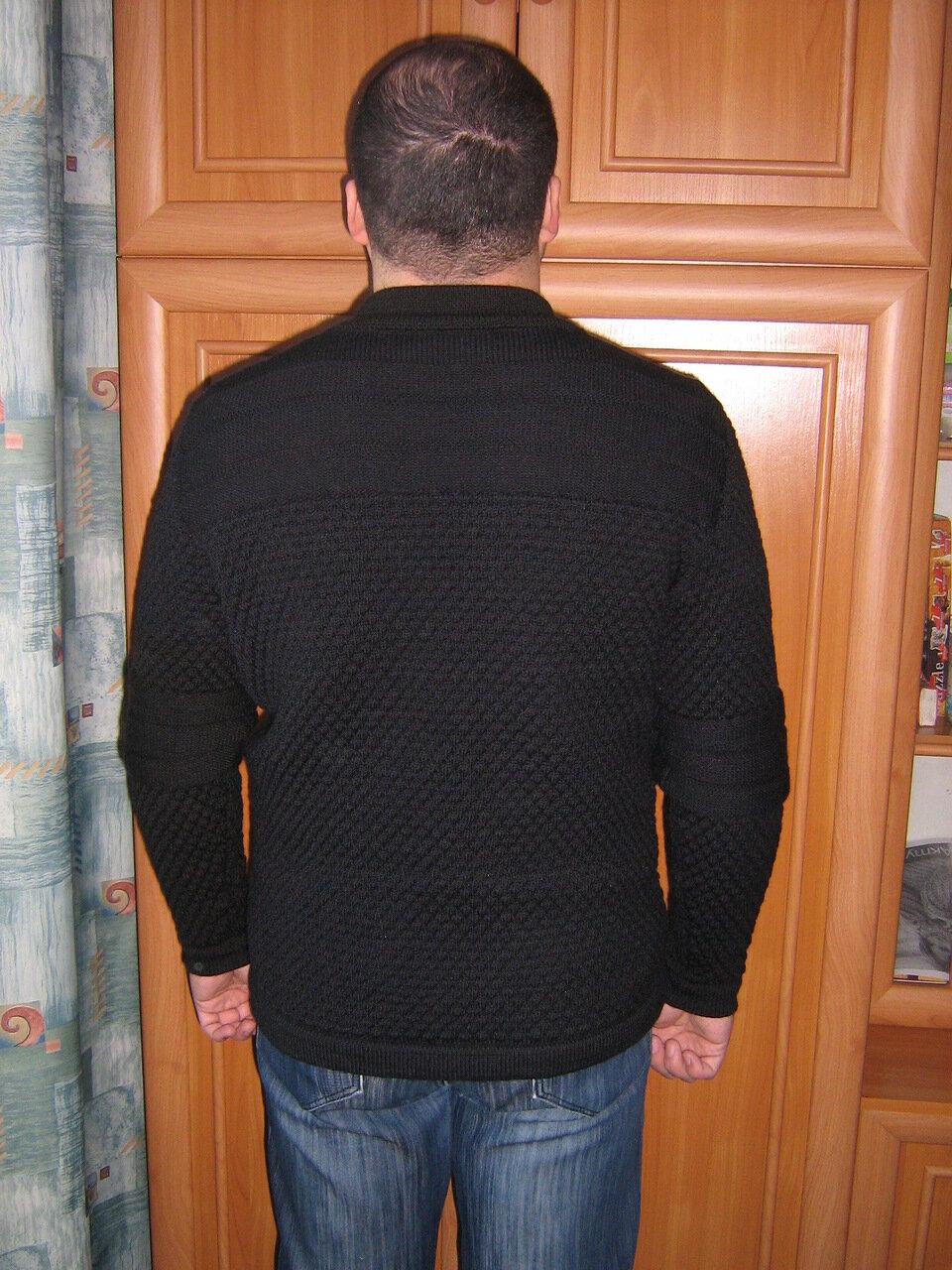 Продам мужской свитер, копия дизайнерской вещи.  Состав: 80% шерсть, 20...