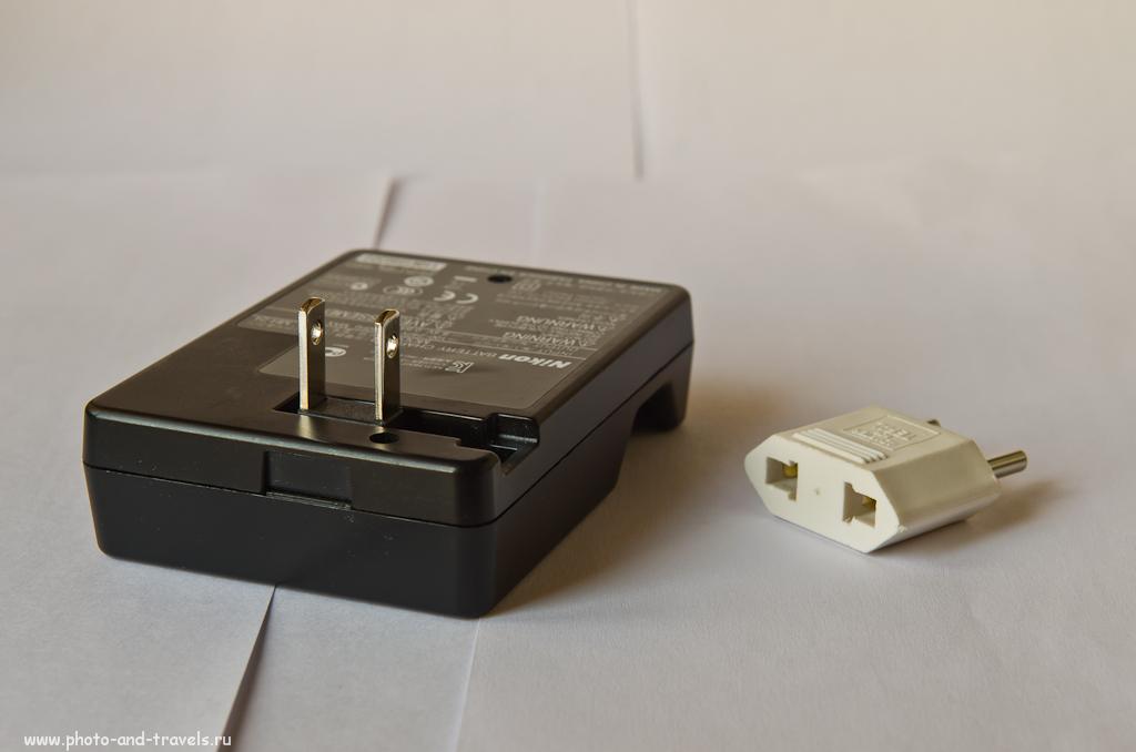 Родной адаптер для зарядки к Nikon D5100 потерялся. Пришлось покупать китайский суррогат