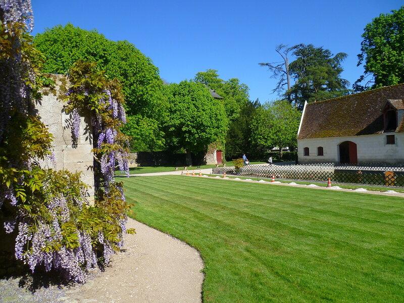 Франция, около замка Шенонсо (France, near the castle of Chenonceau)