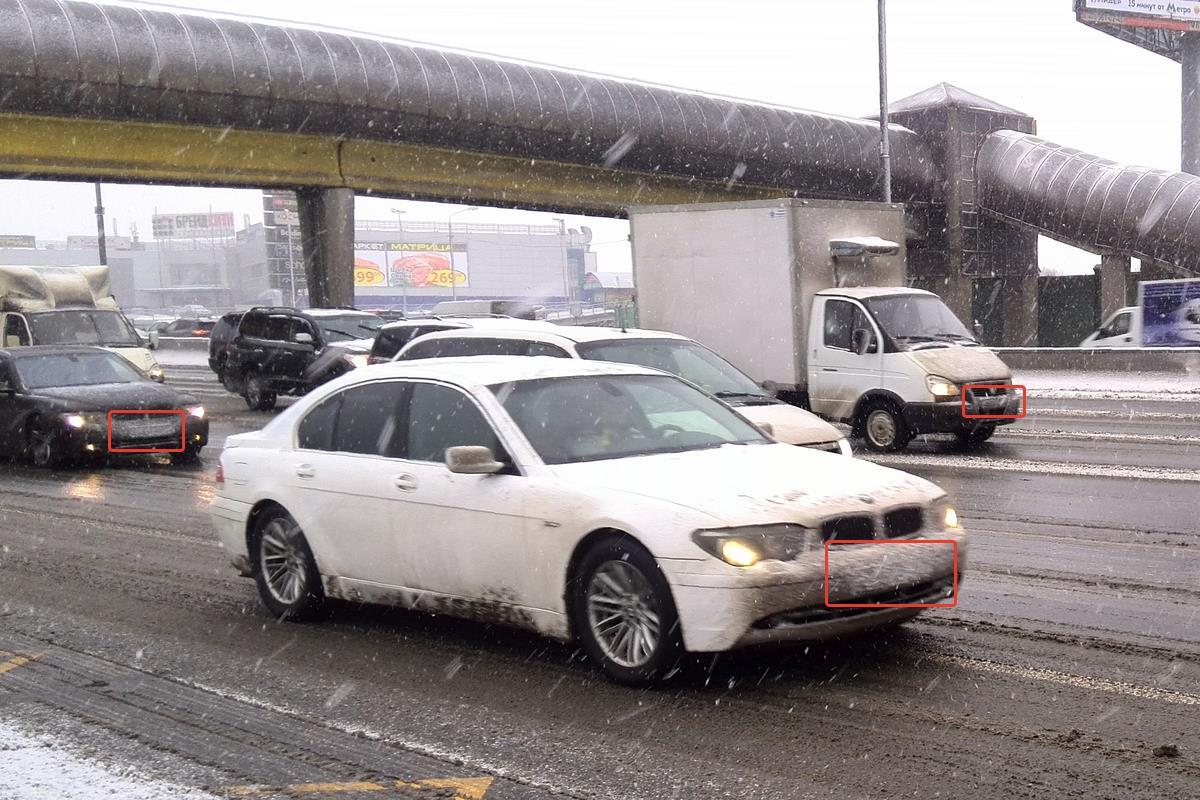 Автомобили с грязными номерами