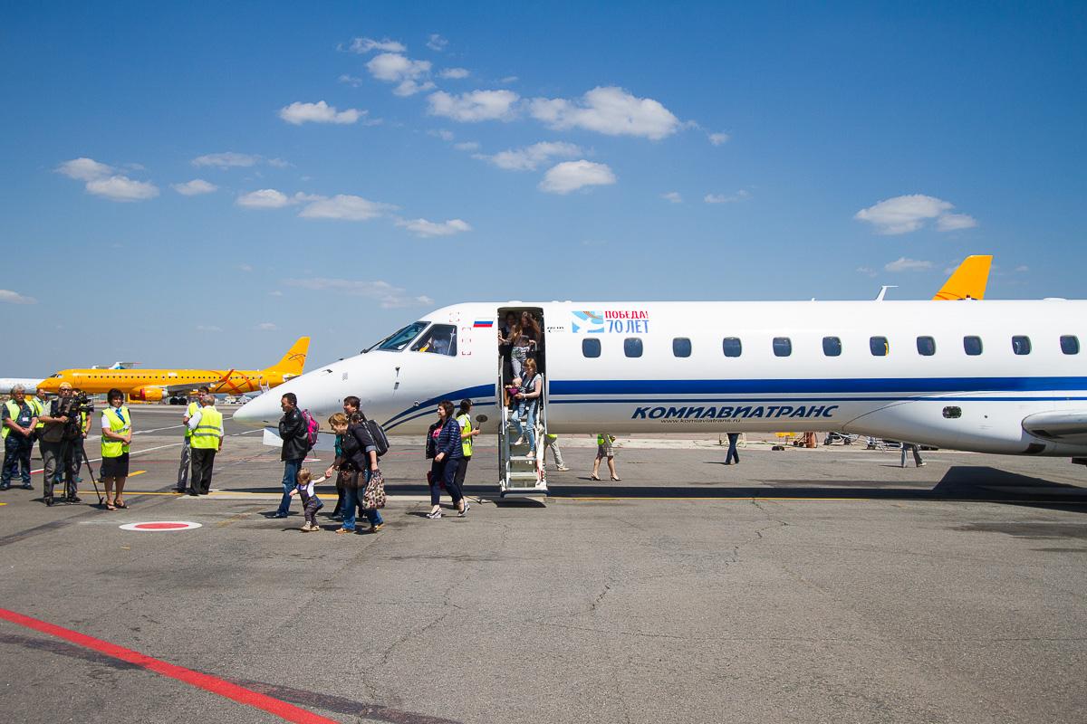 Первый рейс из Питера 9