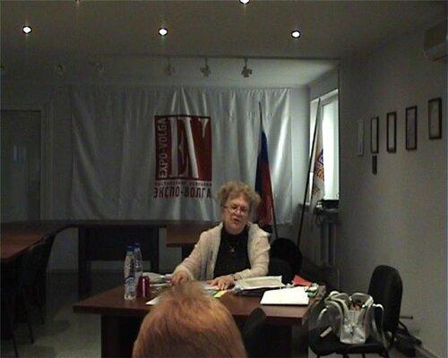 Семинар Г. Червонской в Самаре