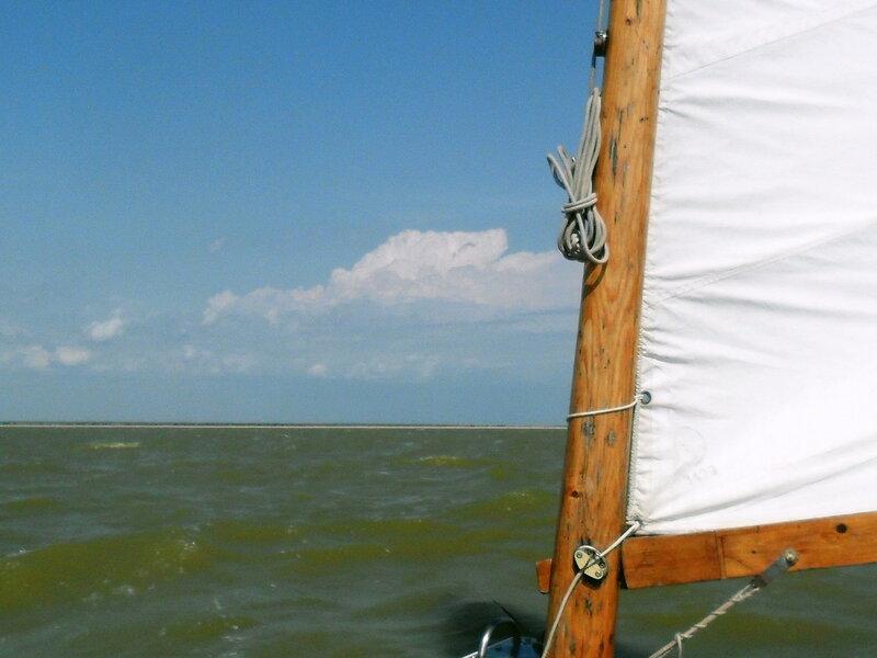 В яхтенном походе