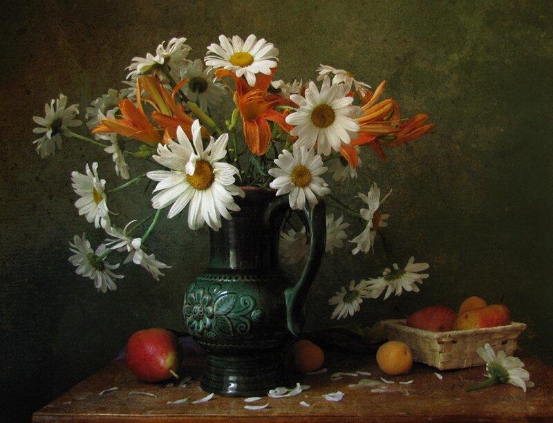 натюрморт цветок: