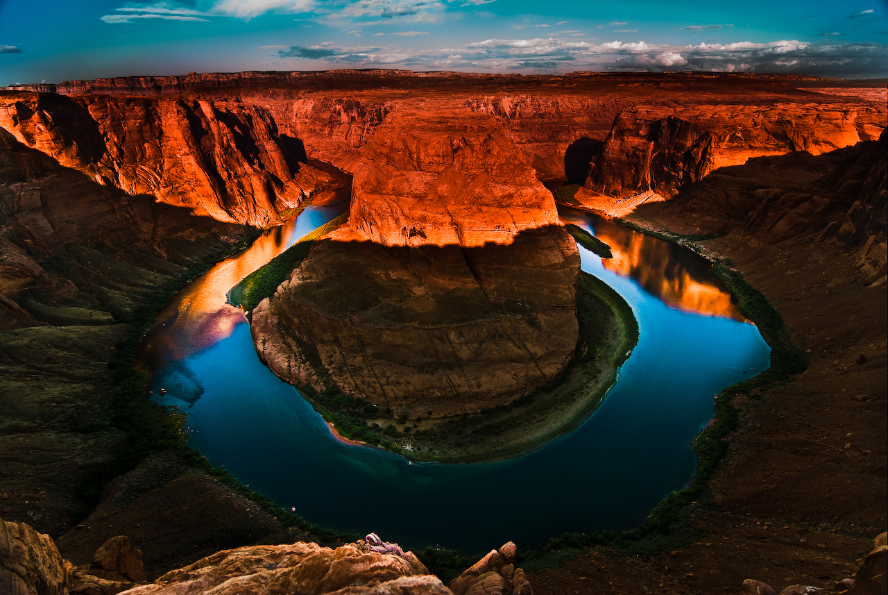 Horseshoe Bend, Colorado River, Arizona, USA