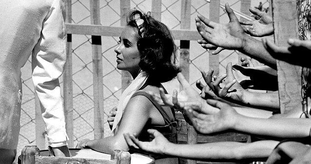 Elizabeth Taylor  by Burt Glinn